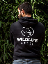 Charger l'image dans la galerie, Sweat Wildlife Angel noir