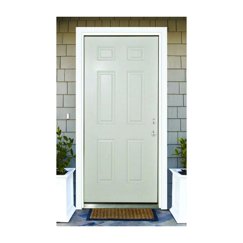 Classic nine panel front entry door.
