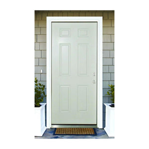 Classic nine panel entry door.
