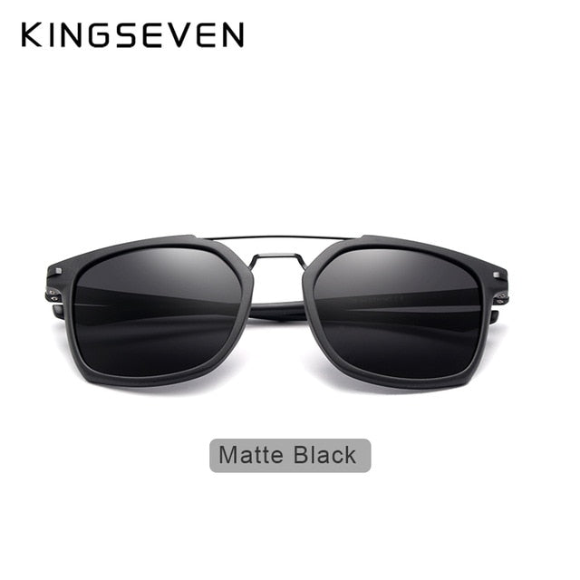 KINGSEVEN  Polarized Series Sunglasses Men Retro