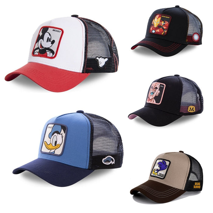NEW Brand Anime Dragon Ball Snapback Cap Cotton