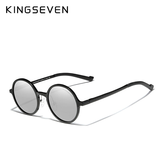 KINGSEVEN Aluminum Sunglasses 2020 New Luxury Brand Design Vintage Women