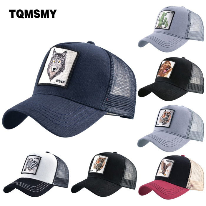 Summer Unisex Animal Men  Women Caps