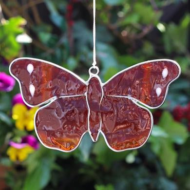 Red Admiral Butterfly Suncatcher - Quirky Giftz Ltd