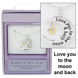Equilibrium Silver Plated Necklace - Quirky Giftz Ltd