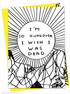 David Shrigley Card - Quirky Giftz Ltd