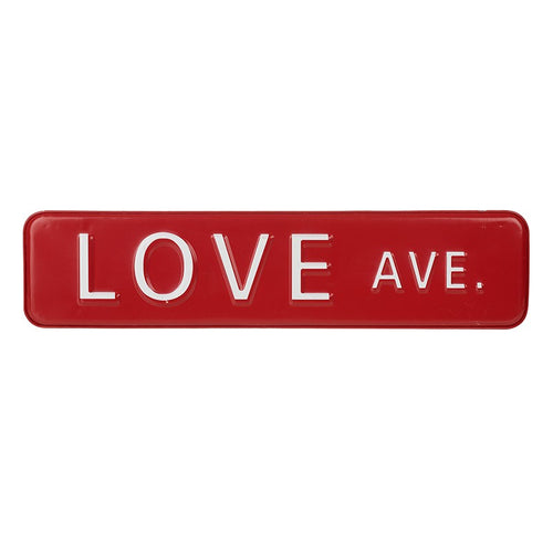 Love Ave Plaque - Quirky Giftz Ltd