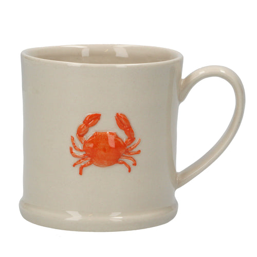 Ceramic Mini Mug With Crab - Quirky Giftz Ltd