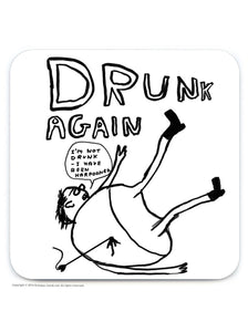 David Shrigley Coaster - Quirky Giftz Ltd