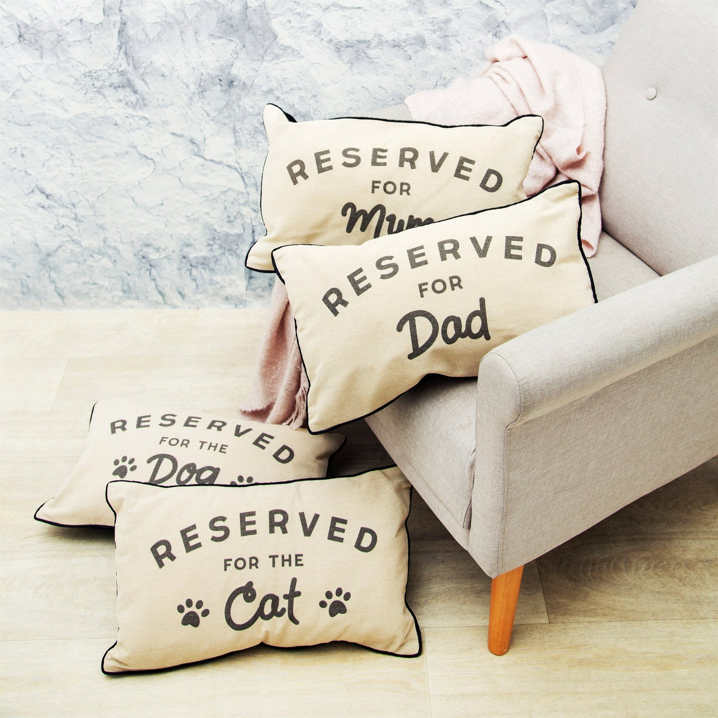 """Reserved For Dad"" Cushion - Quirky Giftz Ltd"