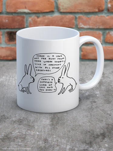 David Shrigley Mug - Quirky Giftz Ltd