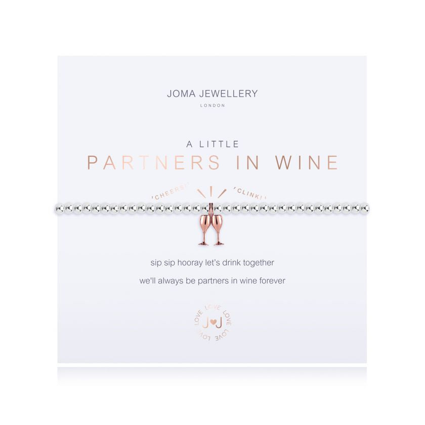 A Little Partners In Wine - Quirky Giftz Ltd