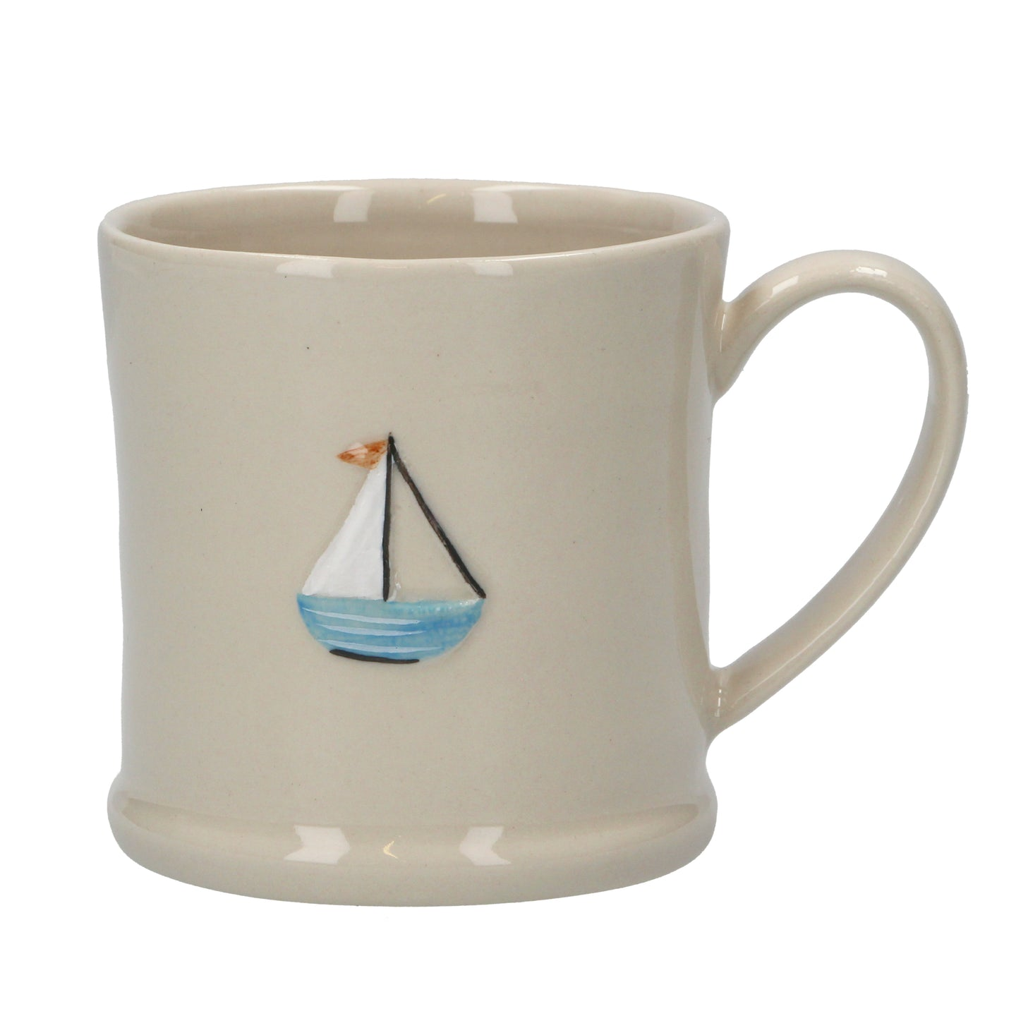 Ceramic Mini Mug With Sail Boat - Quirky Giftz Ltd