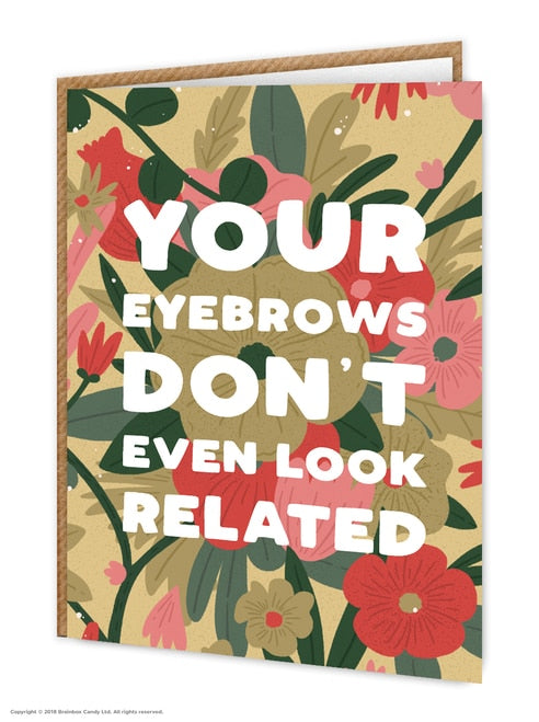 Eyebrows - Quirky Giftz Ltd