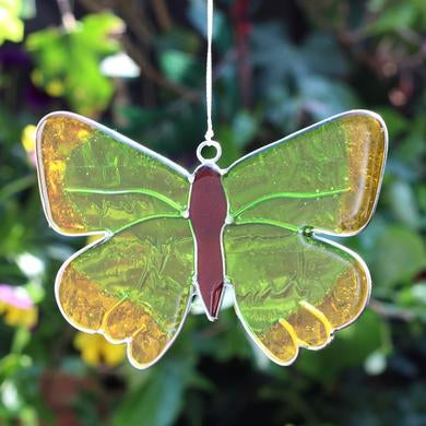 Green Hairstreak Butterfly Suncatcher - Quirky Giftz Ltd
