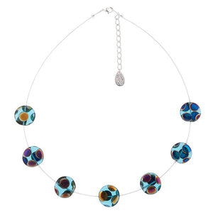 Carrie Elspeth Dotty Puddles Necklace - Quirky Giftz Ltd
