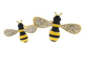 Bumble Bees Brooch - Quirky Giftz Ltd