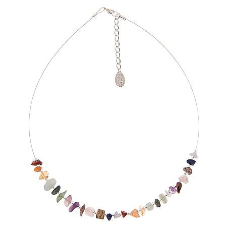 Carrie Elspeth Semi-Precious Chip Links Necklace - Quirky Giftz Ltd