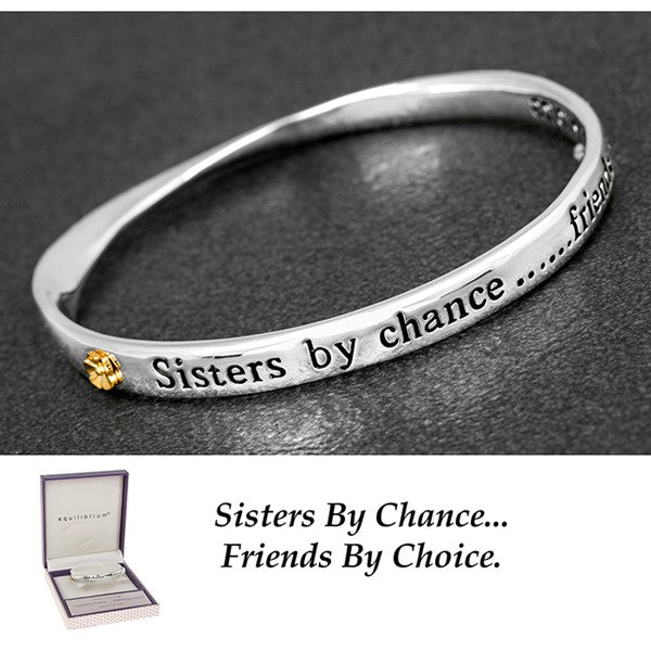 My Sister By Chance, My Friend By Choice - Quirky Giftz Ltd