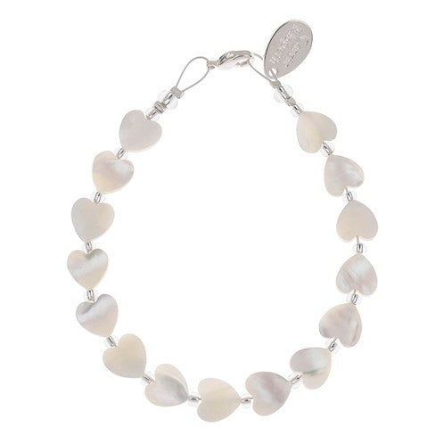 Shell Hearts Bracelet - Quirky Giftz Ltd