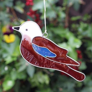 Jay bird Bird Suncatcher - Quirky Giftz Ltd