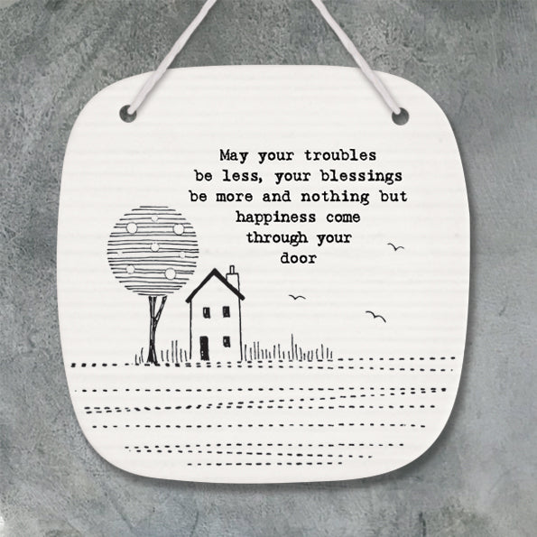 East Of India Pic-May Your Troubles... - Quirky Giftz Ltd