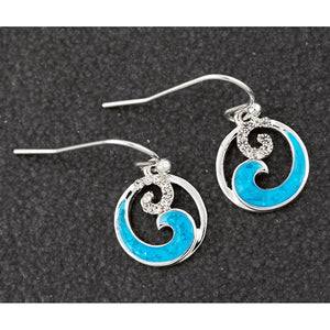 Equilibrium Silver Earrings - Quirky Giftz Ltd