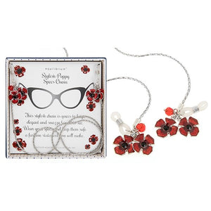 Equilibrium Poppy Spectacle Chain - Quirky Giftz Ltd
