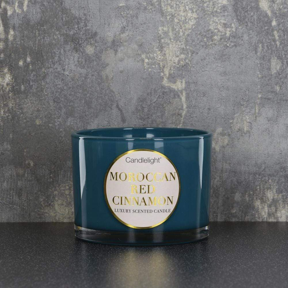 Candlelight Moroccan Wax Filled 2 Wick Candle - Quirky Giftz Ltd