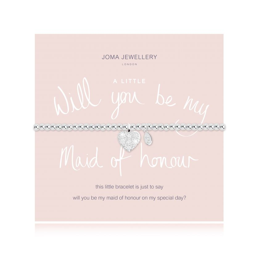 A Little 'Will You Be My Maid Of Honour' - Quirky Giftz Ltd
