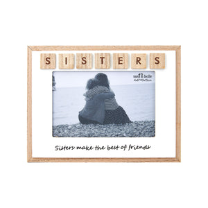 """Sisters"" Photo Frame - Quirky Giftz Ltd"
