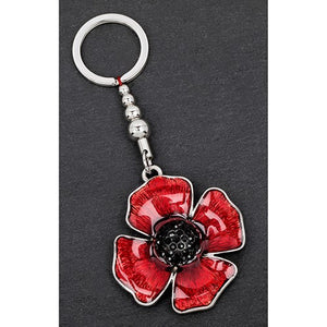 Equilibrium Poppy Keyring - Quirky Giftz Ltd