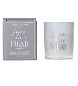 Super Lovely Friend Mini Candle - Quirky Giftz Ltd