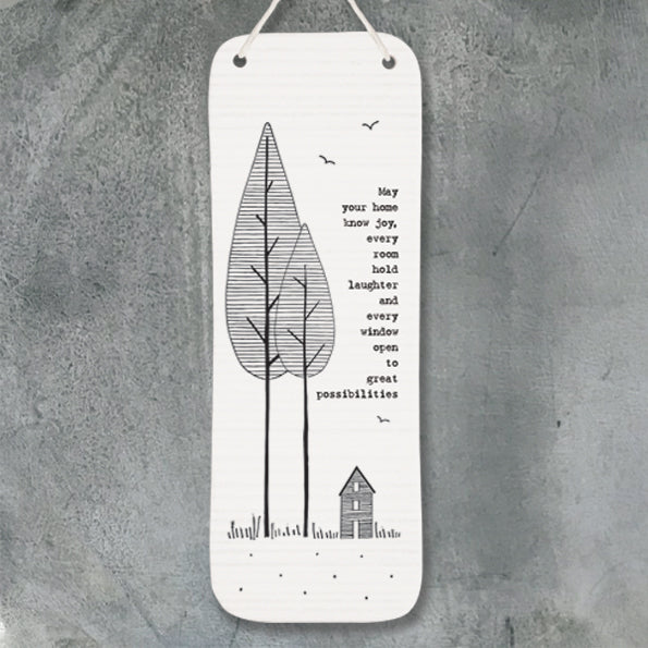 East Of India Long Tree Pic- May Your Home... - Quirky Giftz Ltd