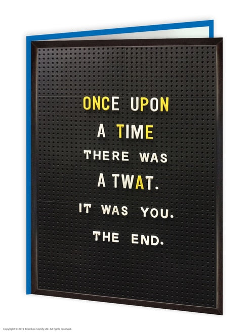 Once Upon A Time - Quirky Giftz Ltd