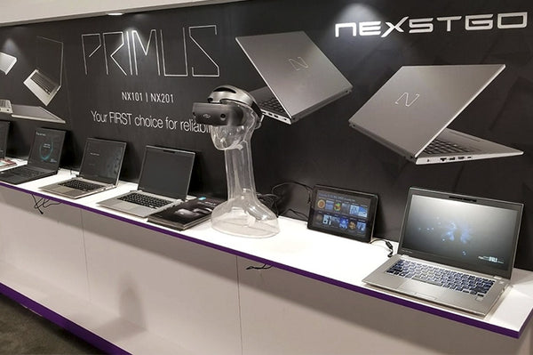 Hong Kong tech nova Nexstgo joins world's largest consumer electronics trade show CES2018 Showcases its first flagship commercial laptop PRIMUS