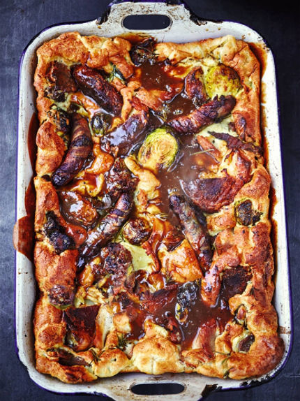 Toad in the hole 'leftovers' recipe
