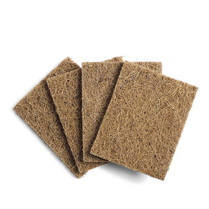 Coconut cleaning scourers - 4 pack