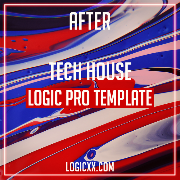 Tech House Logic Pro Template - After