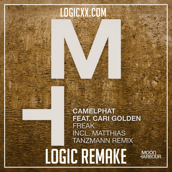 Camelphat ft Cari Golden - Freak Logic Pro Remake (Tech House Template)