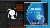 Monolink - Return to Oz ARTBAT Remix Logic Pro Remake (Melodic House Template)