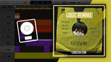 Bee Gees - Stayin' Alive (San Pacho Remix) Logic Pro Remake (Tech House Template)
