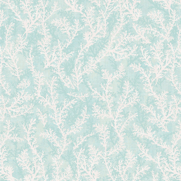 1/2m Coastal Wishes Coral - Aqua