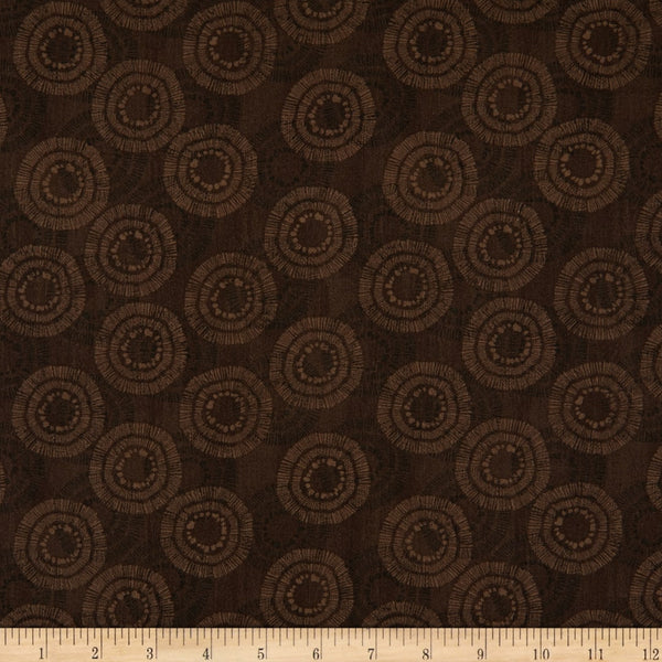 1/2m Circle Burst - Chocolate
