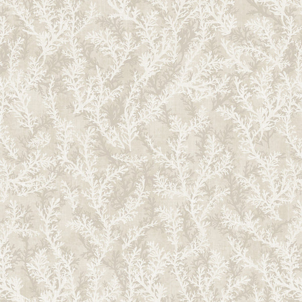 1/2m Coastal Wishes Coral - Cream