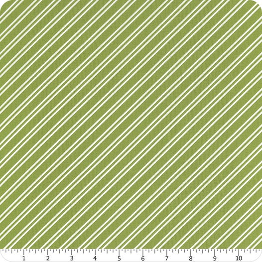 1/2m At Home Stripe - Leaf