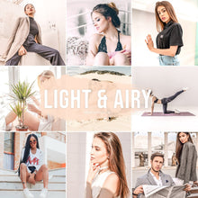 Load image into Gallery viewer, Light & Airy Lightroom Presets