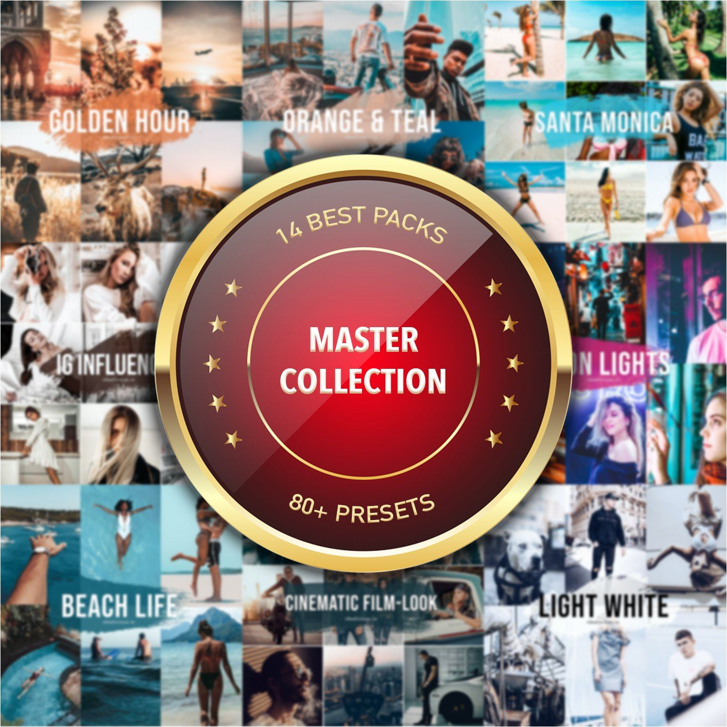 Master Collection - 80+ Presets - Mobile & Desktop