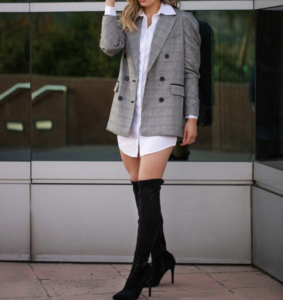 Style a Blazer Craving Current