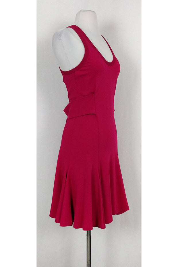 Current Boutique-Givenchy - Hot Pink Flared Dress Sz 6